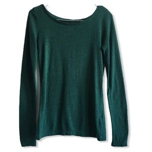 American Eagle Green Long Sleeve Tee XS